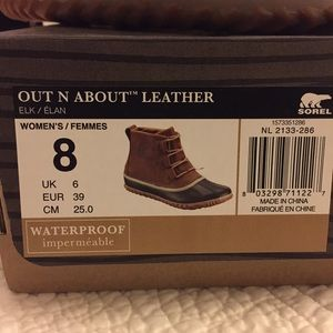 Sorel Shoes - Sorel Out N About Leather Boots
